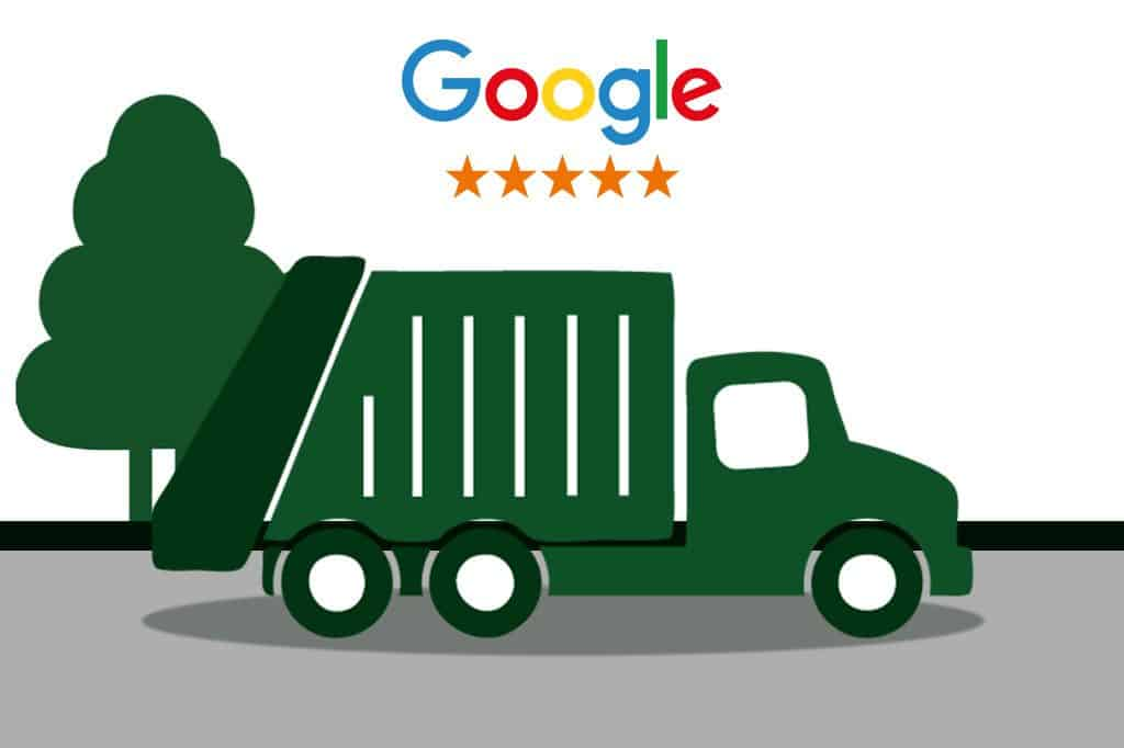 Google Reviews of Prices Dumpster Rental Dayton OH